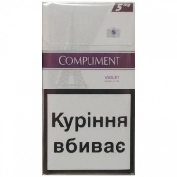 Сигареты Compliment 5 Slims
