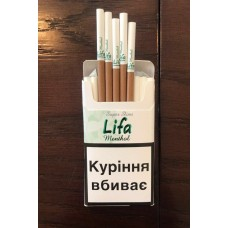 Сигареты Lifa Menthol Super Slims (Лифа Ментол)